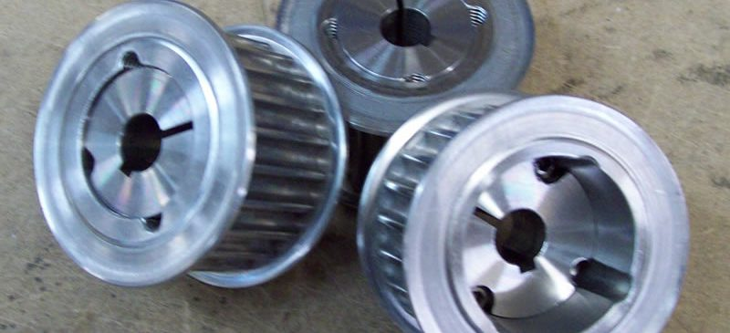 Pulleys for Toothed Synchronous Timing Belts